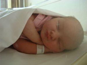 Ik ben een baby geboren